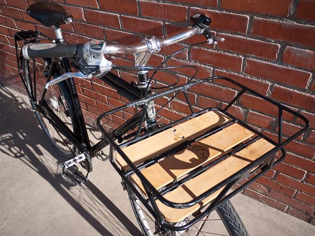 Bagageiros para bike