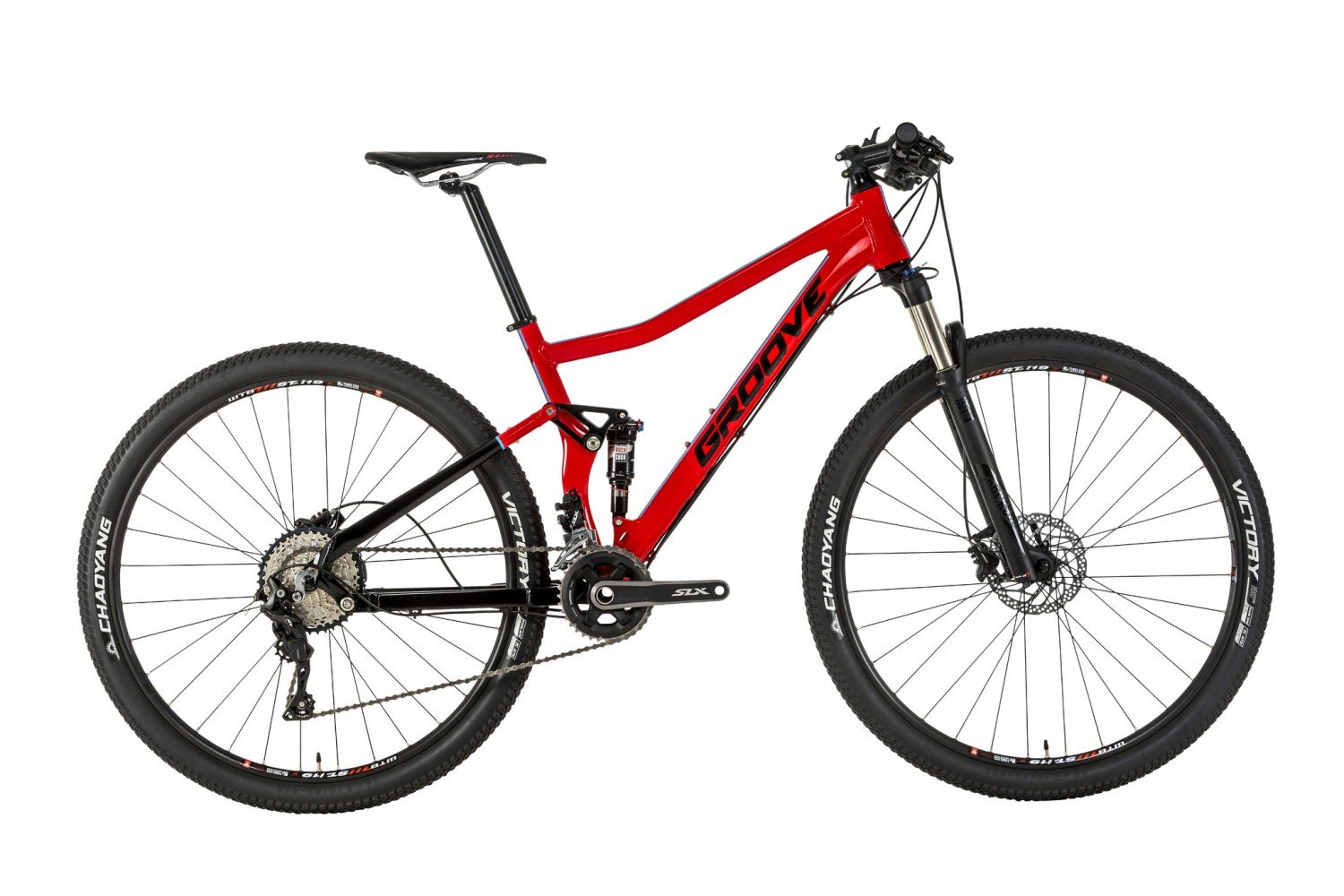 MTBs full suspension para homens, Groove Slap 50