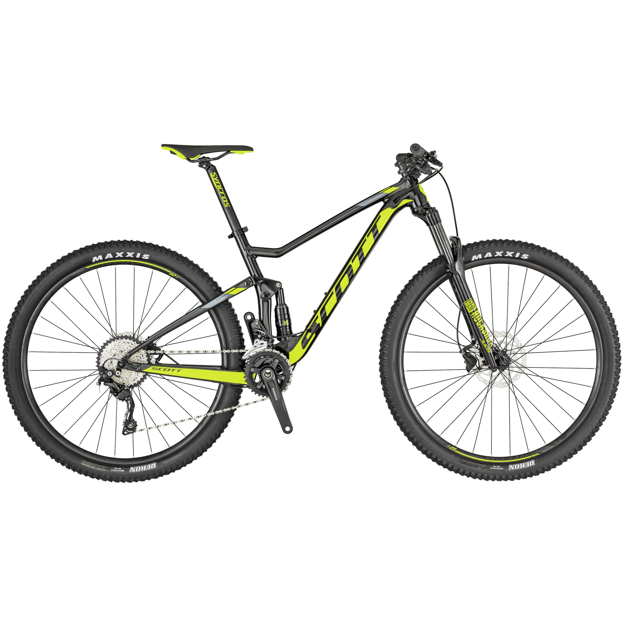 MTBs full suspension para homens, Scott Spark 970