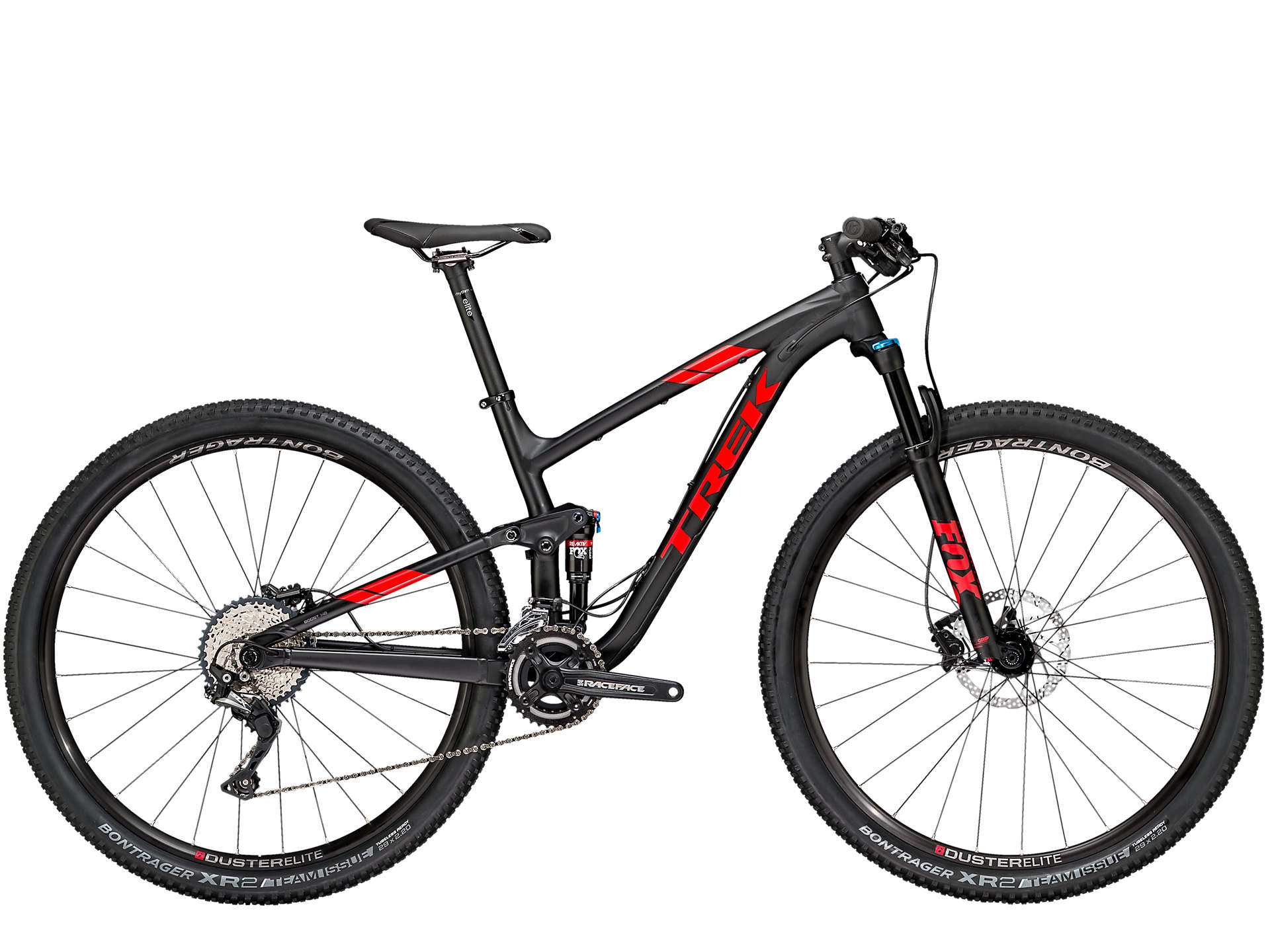MTBs full suspension para homens, Trek Top Fuel 8