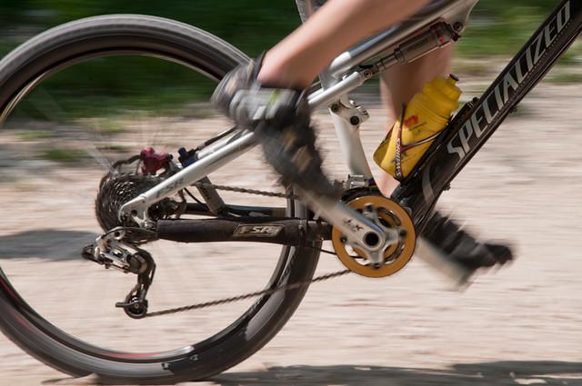 Pedalar de bike full suspension