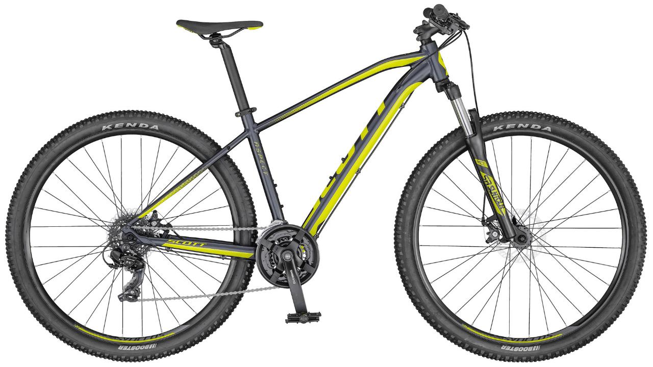 Comparativo de bicicletas MTB de entrada, Scott Aspect 970 2020