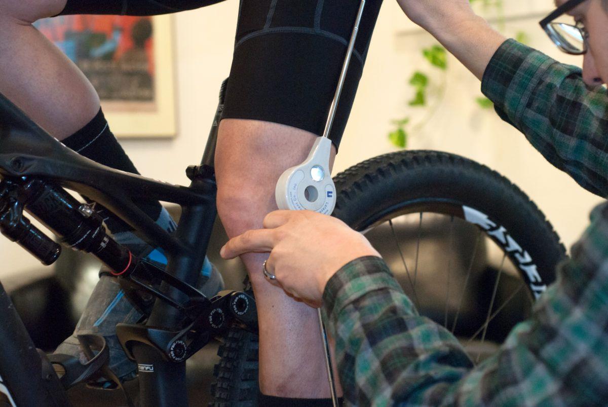 Bike fit, mountain bike full suspension