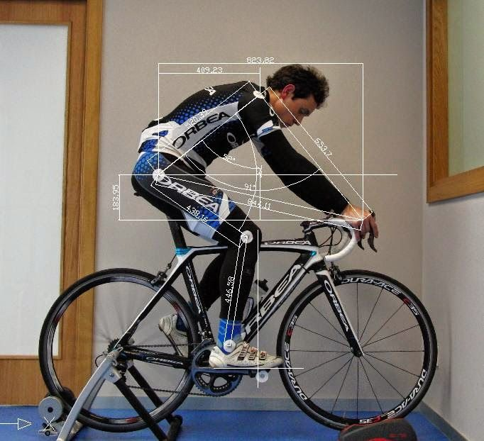 Bike fit, road bike