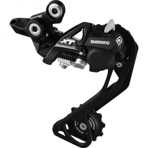 Tecnologia para bicicleta, câmbio traseiro Deore XT Shadow