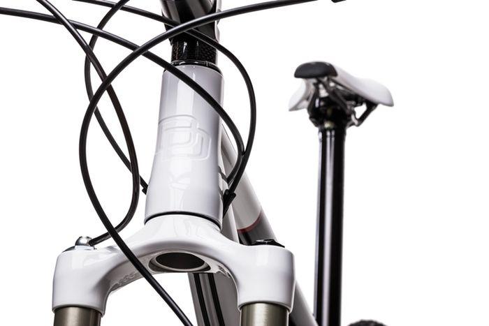 Tecnologia para bicicleta, caixa de direção cônica