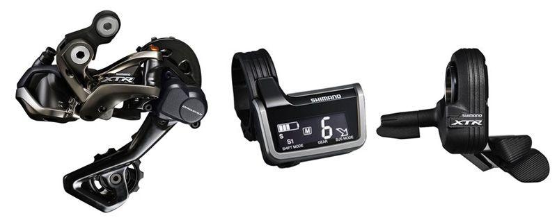 Tecnologia para bicicleta, Shimano XTR Di2