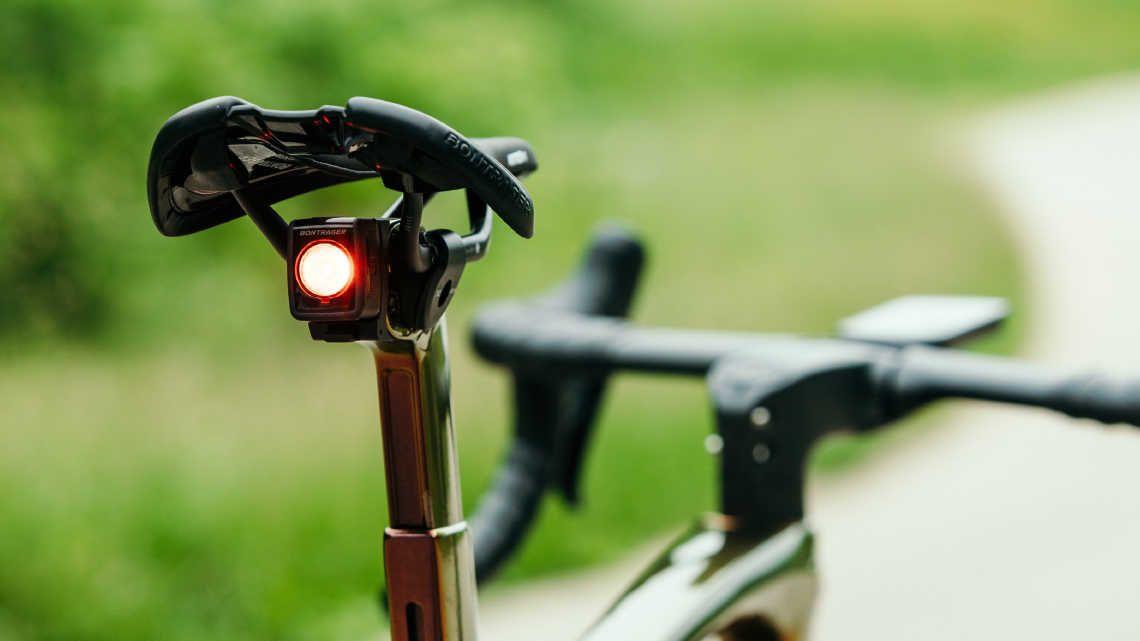 Presente para ciclista, luz traseira para bicicleta