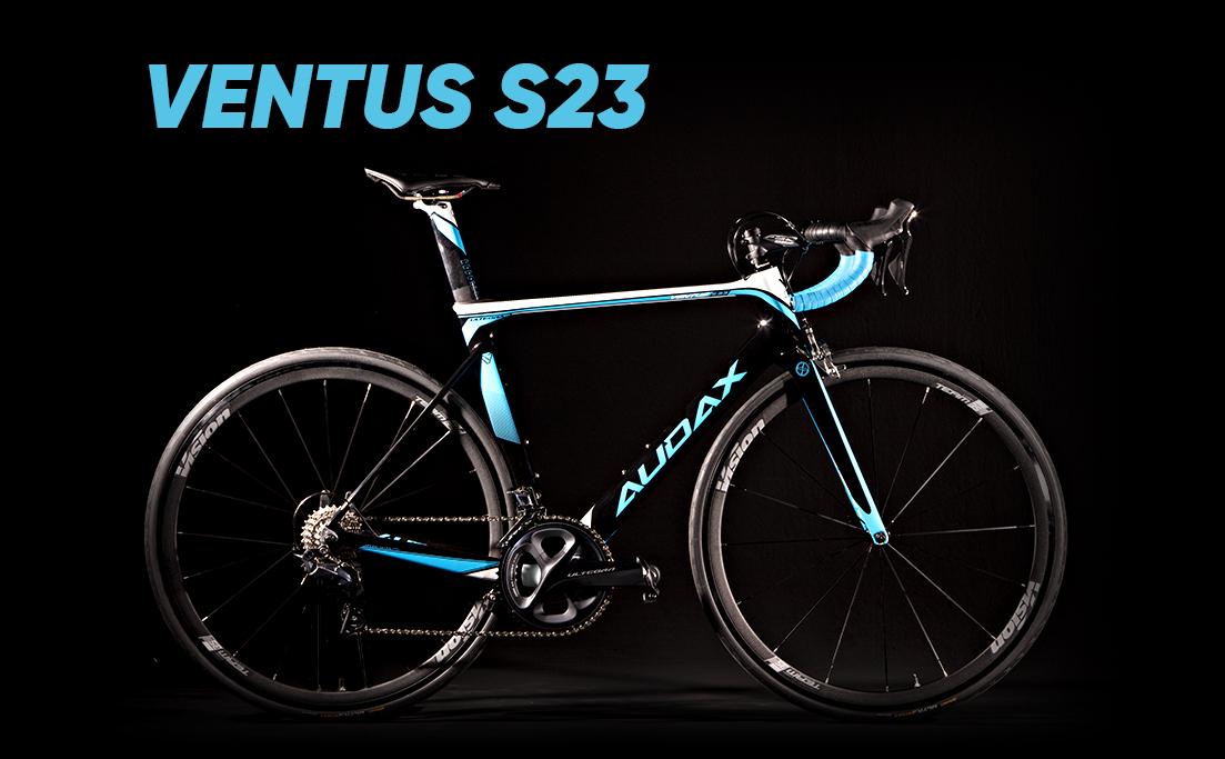 Road bikes intermediárias, Audax Ventus S23