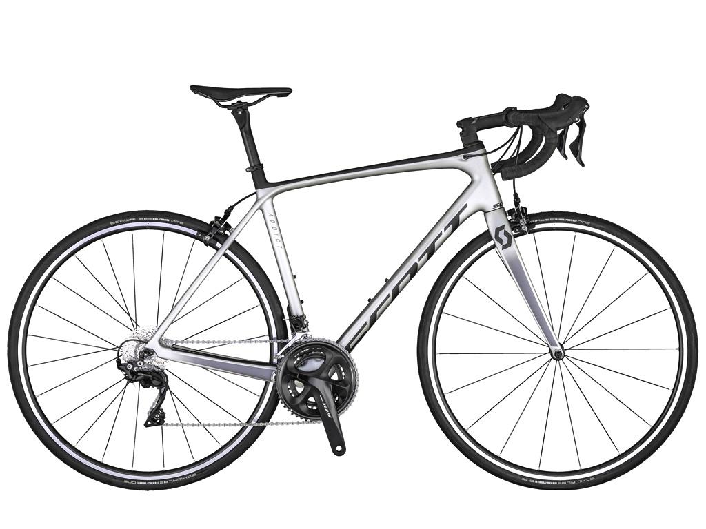 Road bikes intermediárias, Scott Addict 20 2020