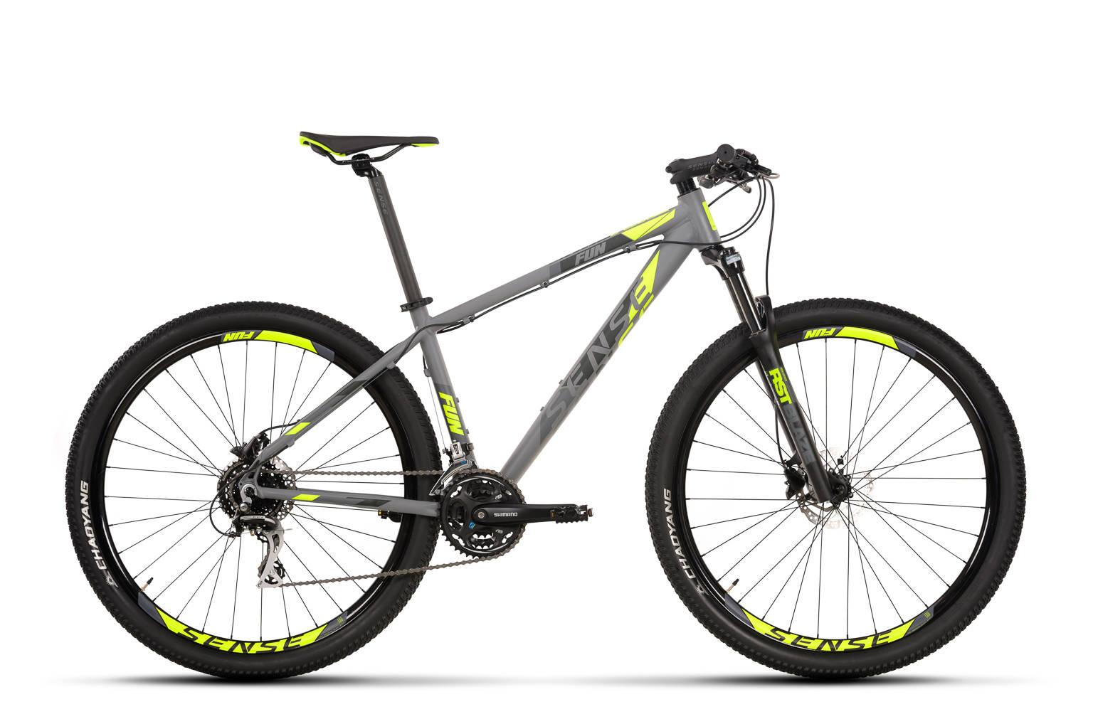 Comparativo de bicicletas MTB de entrada nacionais,  Sense Fun 2020