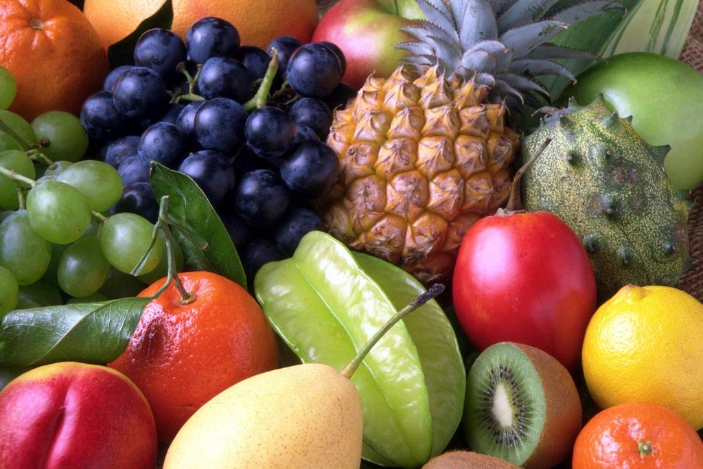 Aumentar a performance, frutas