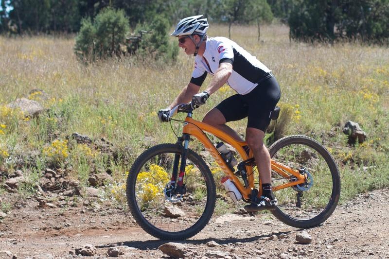 Escolher o tamanho da bicicleta, MTB full suspension