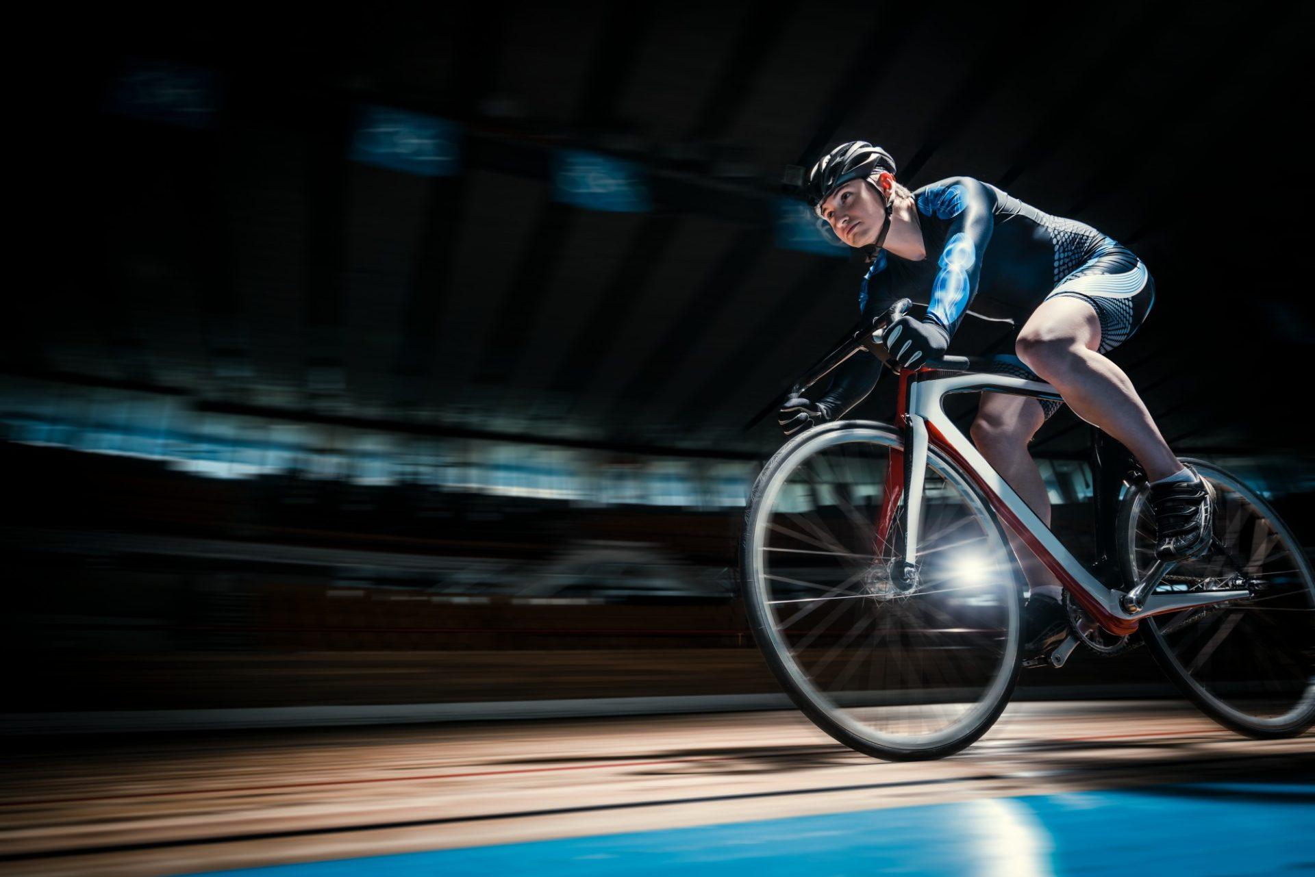 Prova de velocidade no ciclismo