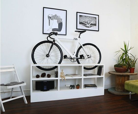 como guardar bicicleta