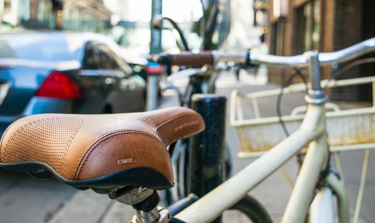 Altura do selim da bike, bicicleta urbana