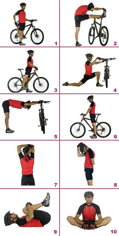 alongamentos para ciclista