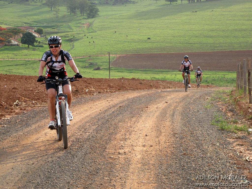 Caminho da Fé de bike, subida