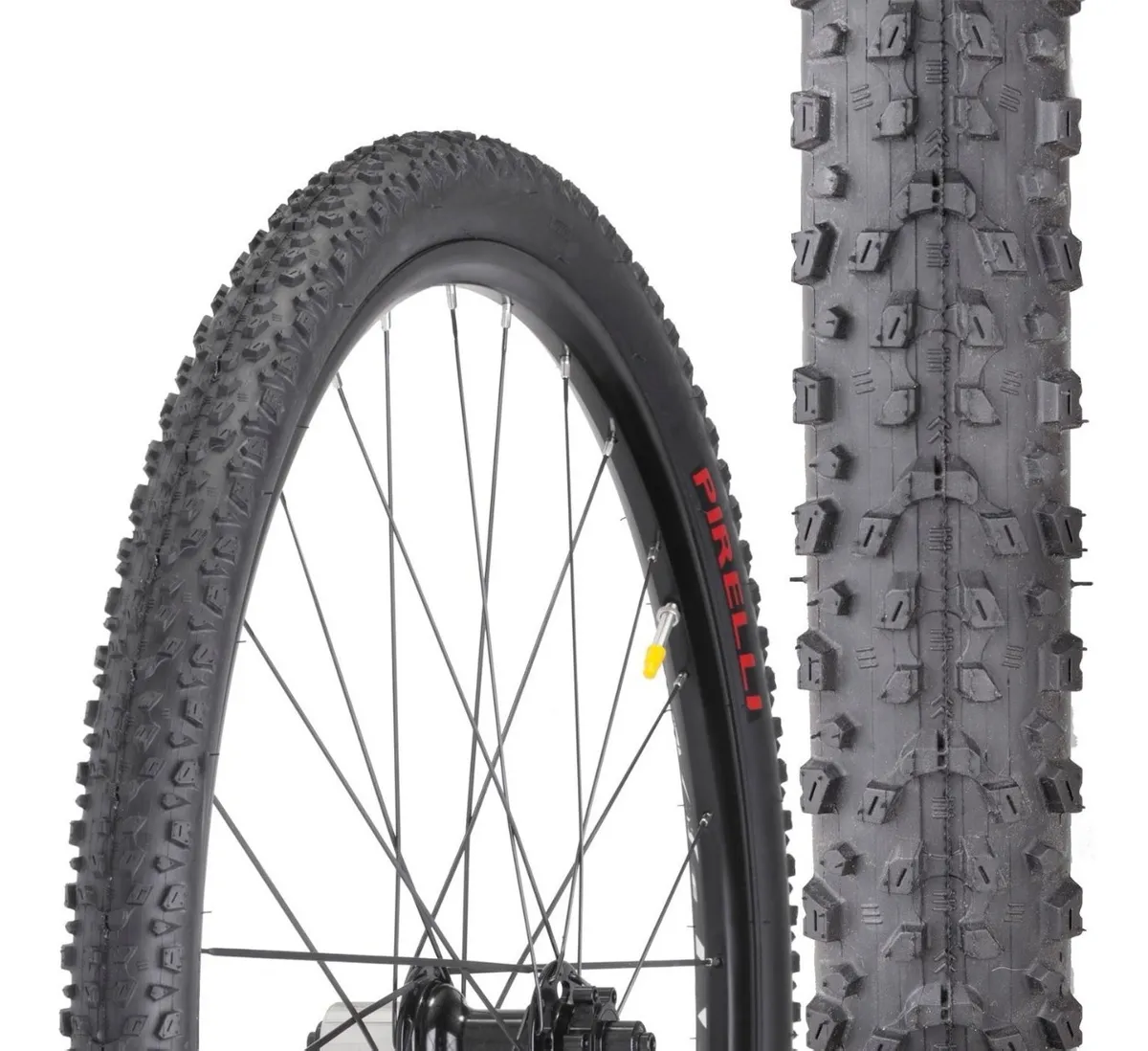 Montar uma bike, pneu Pirelli com cravos