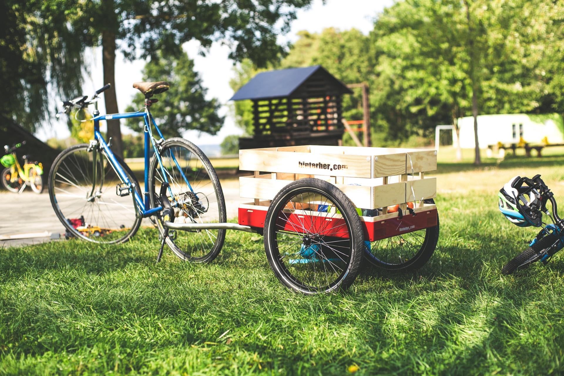 Reboque para bike, carretinha