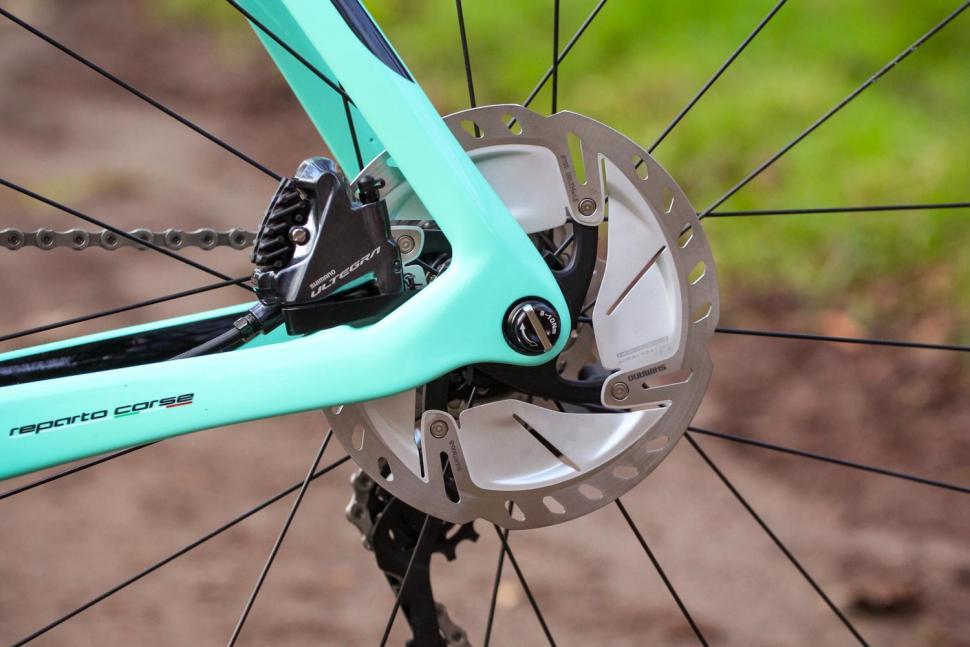 freio a disco de bicicleta de estrada