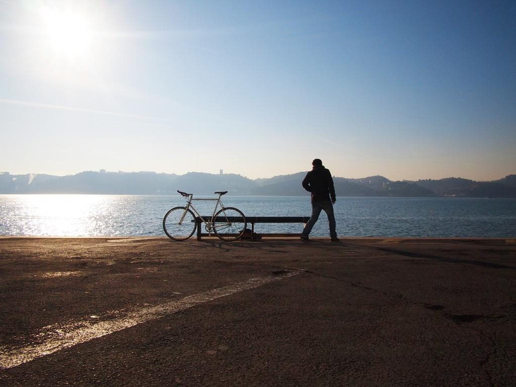 longas distâncias de bike