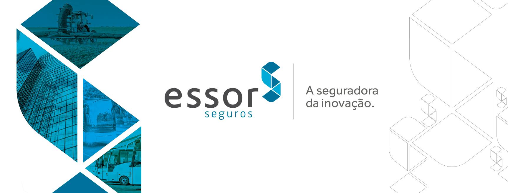 Logo Essor Seguros, seguro Bike Registrada