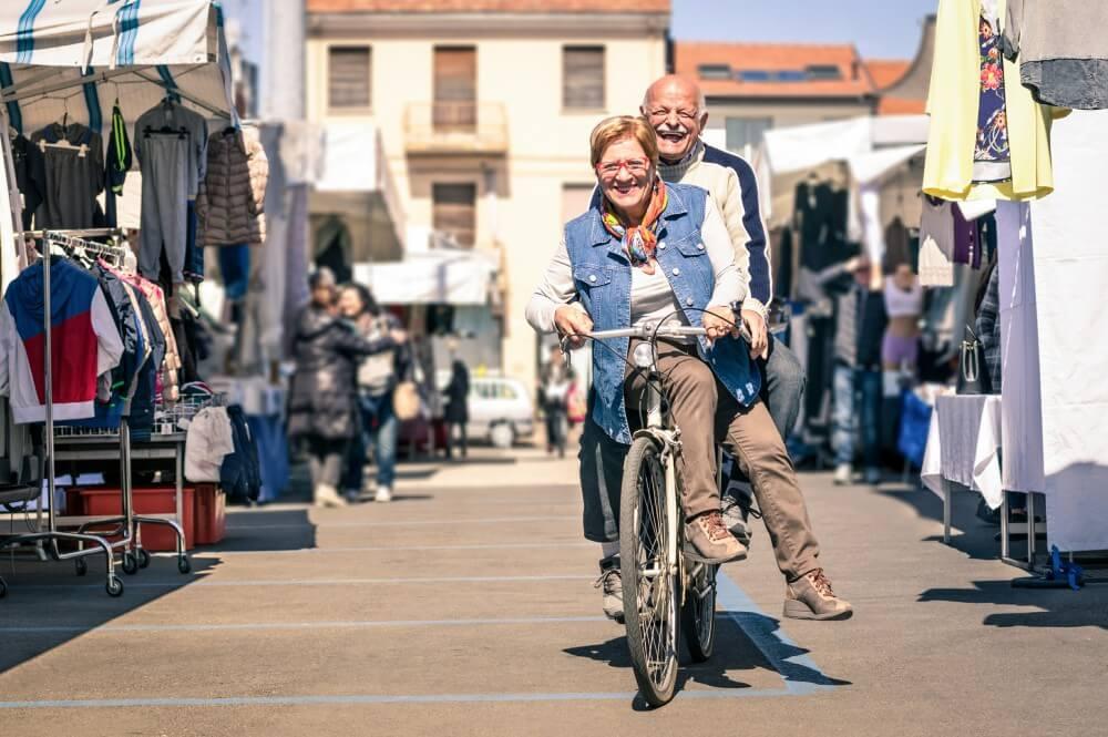 bicicleta como meio de transporte