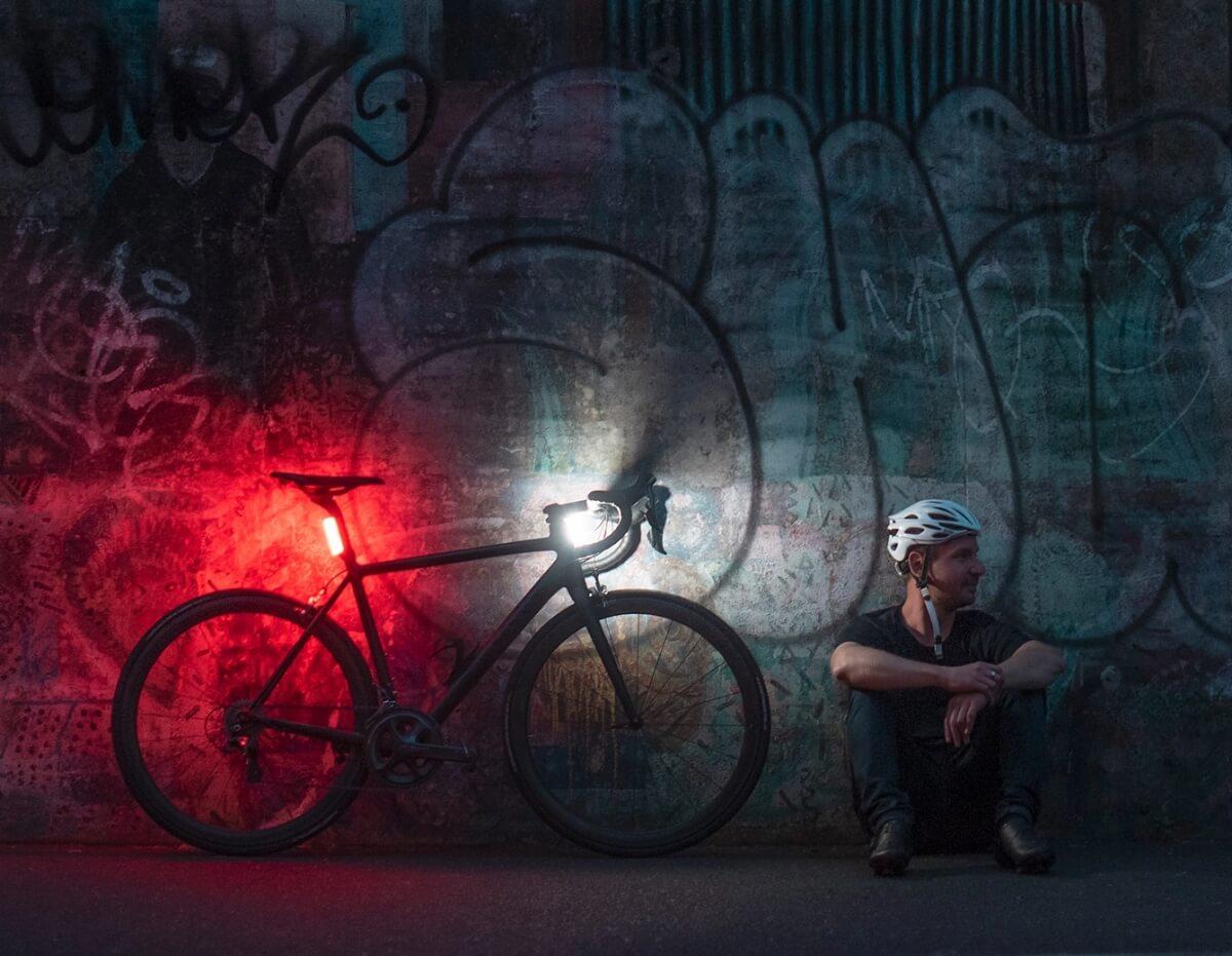 farol para bicicleta