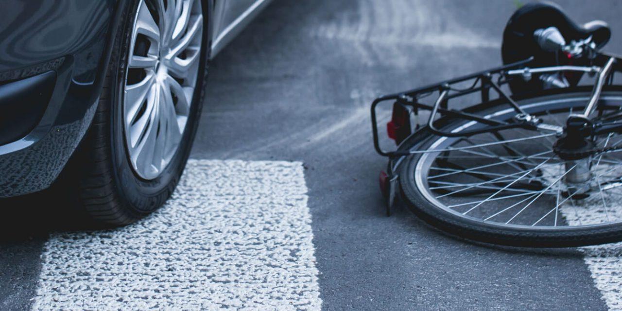Principais causas de acidentes com ciclistas