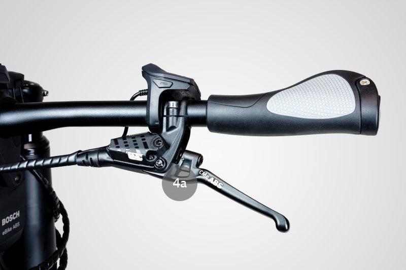 Freio ABS para bicicleta, Bosch