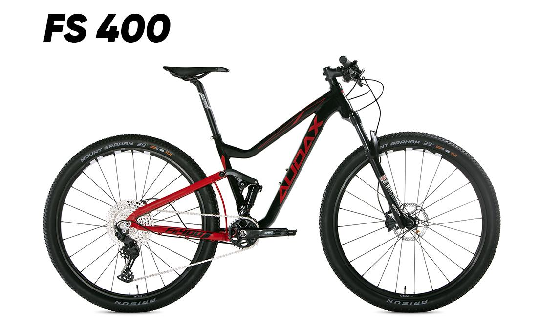 MTB full suspension, Audax FS 400